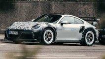 Techart GTstreet R Porsche 911 mit wildem Design erwischt