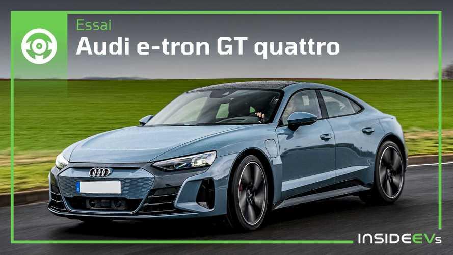 Essai Audi e-tron GT quattro - Nos premières impressions à son volant