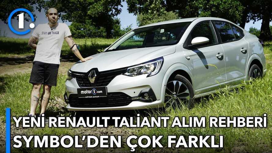 2021 Renault Taliant | Symbol'den Daha Fazlası | Alım Rehberi