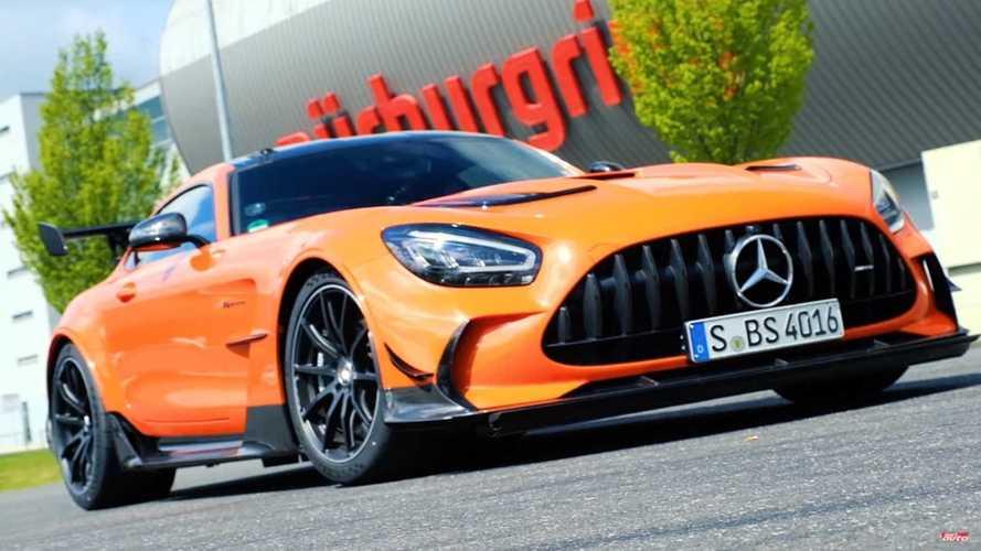Watch Journalist Drive AMG GT Black Series To 6:52 Nurburgring Lap