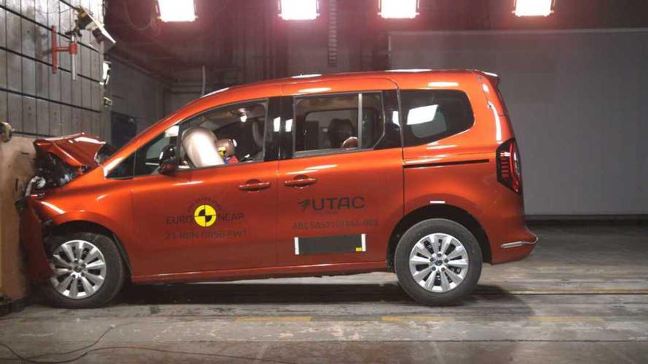 Renault Kangoo 2022 - Crash test EuroNCAP