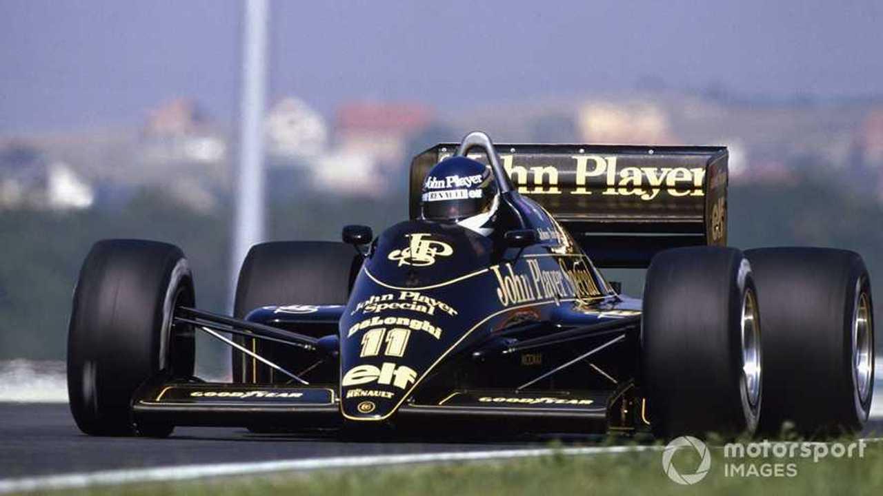 Johnny Dumfries, Lotus 98T-Renault at Hungarian GP 2011
