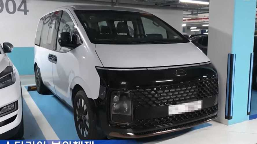 Hyundai Staria gerçekte böyle görünüyor