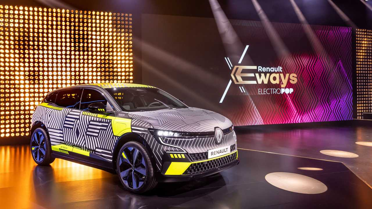 Der neue Renault Megane Electric bei der Electropop-Präsentation