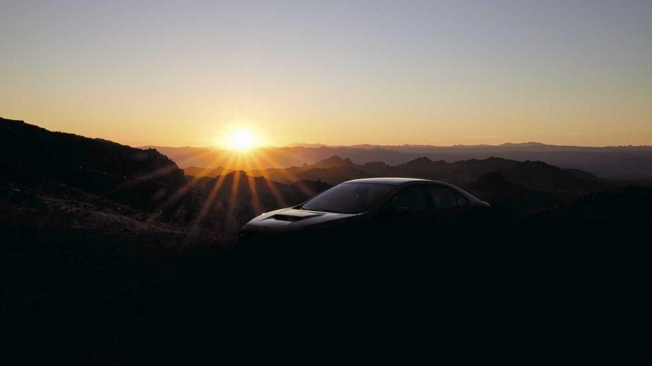 Первый тизер нового седана WRX от Subaru