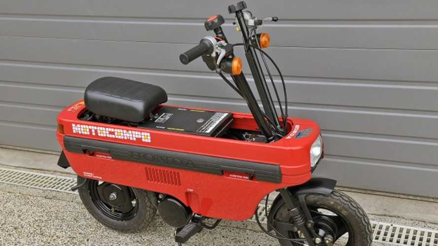 You've Got To Buy This Cult Classic Honda Motocompo From 1981