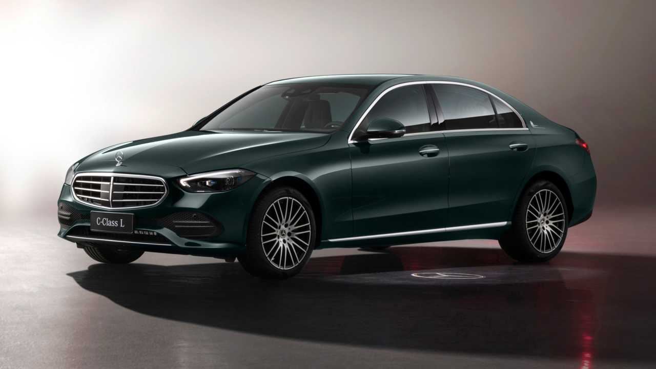 2021 Mercedes C-Class Long Wheelbase (CN)
