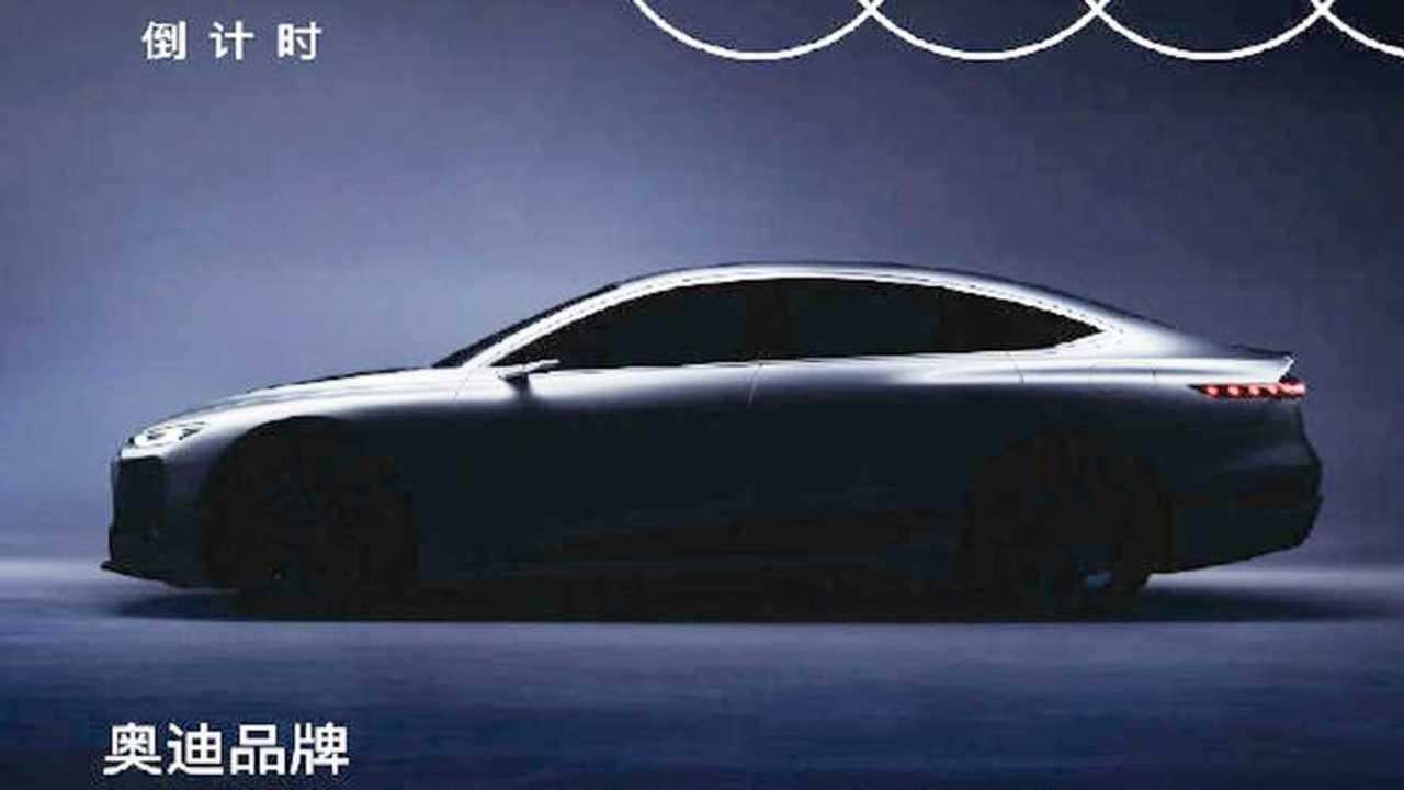 New Audi E-Tron teaser revealed.
