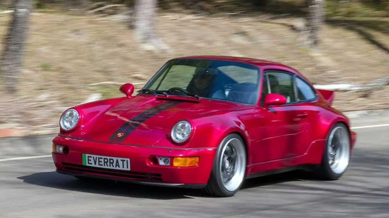 Porsche 911 Generation 964, la version électrique d'Everrati