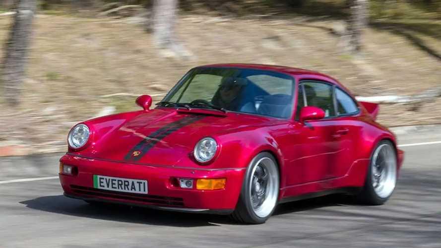 Porsche 911 Generazione 964, la versione elettrica di Everrati