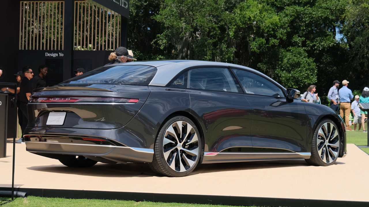 Lucid Air Prototype At Amelia Island Concours d'Elegance
