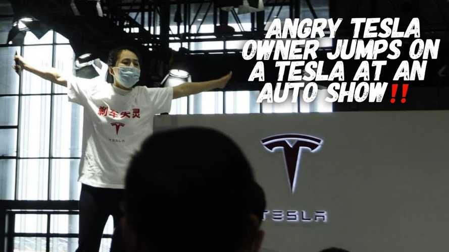 After protest, China presses Tesla to improve customer care