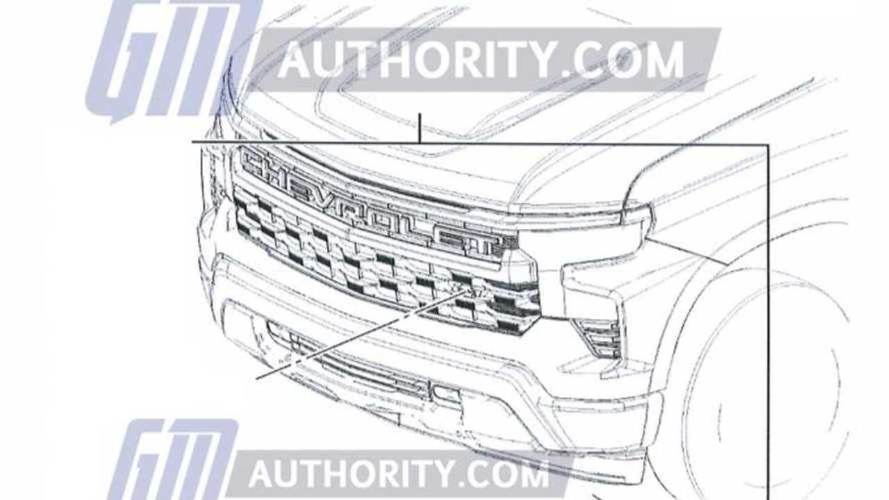 Silverado refresh front sketch
