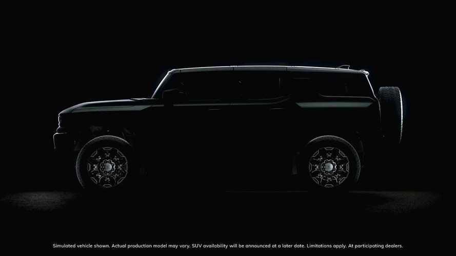 GMC Releases New Hummer EV SUV Teaser
