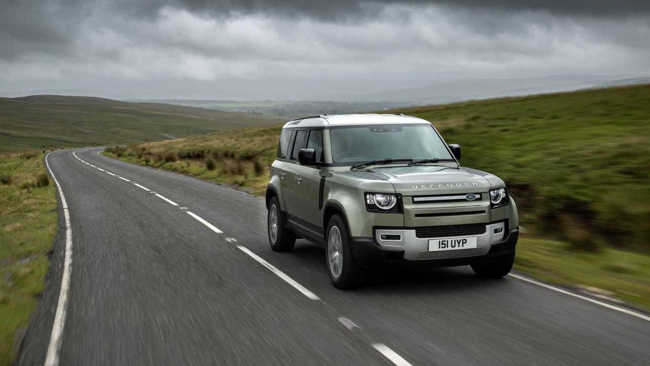 Прототип водородного электромобиля Land Rover Defender