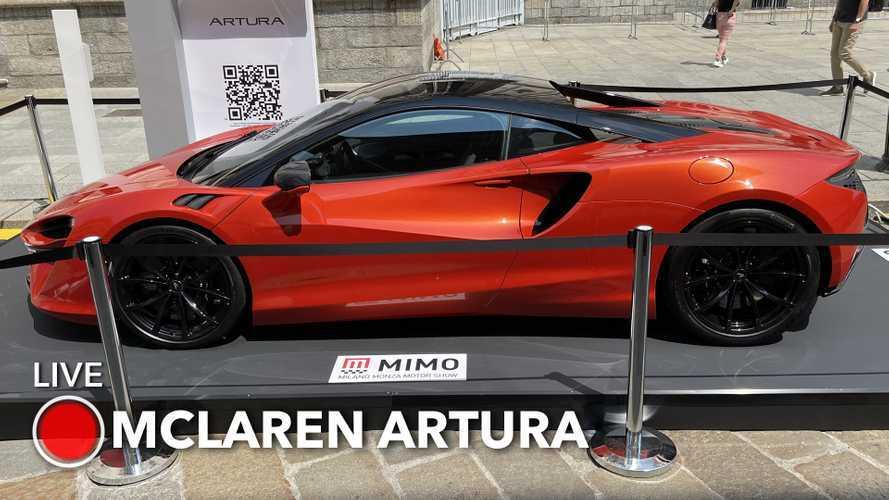 McLaren Artura, quando l'ibrido plug-in incrocia le supercar V6