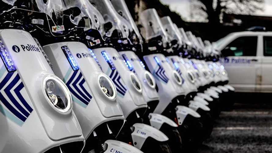Brussels Police Get NIU Electric Scooters For Patrol Duty