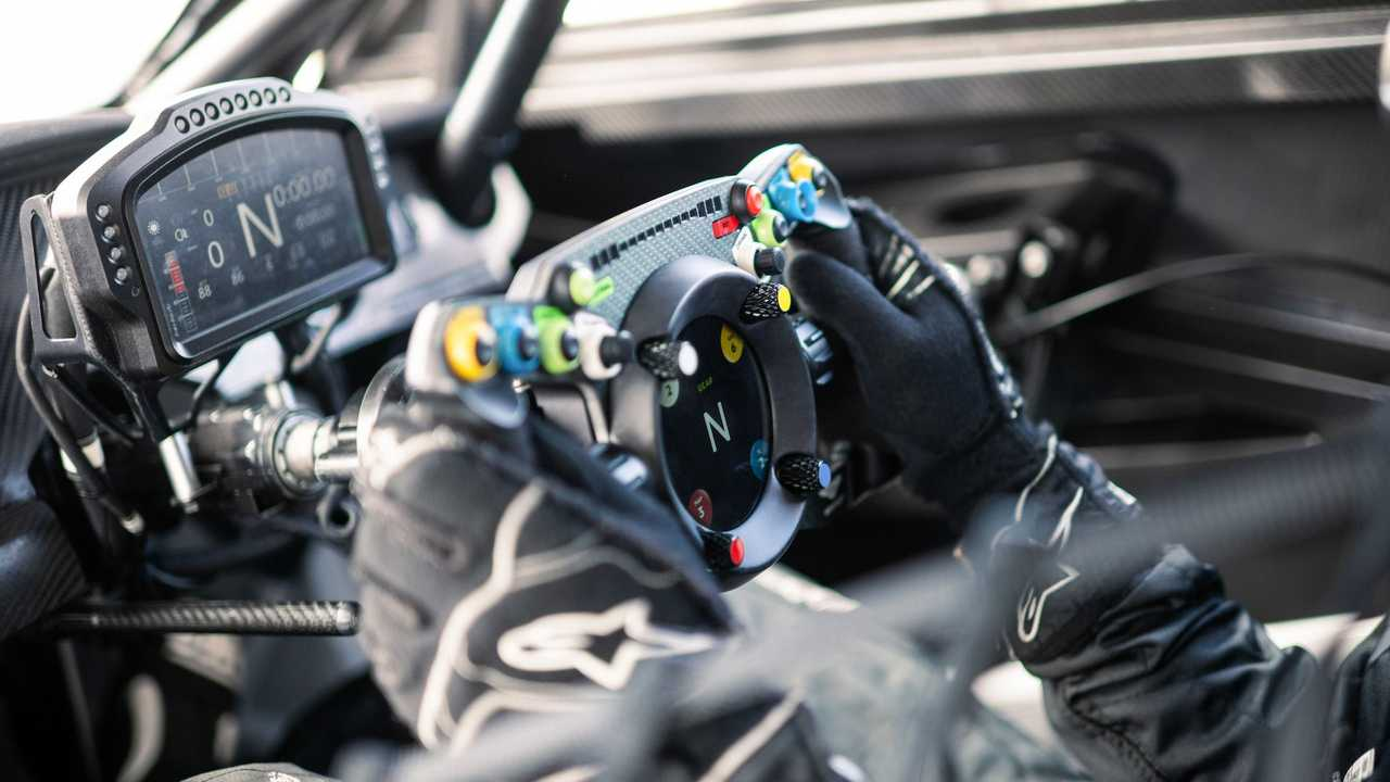Bentley Continental GT3 Pikes Peak Steering Wheel
