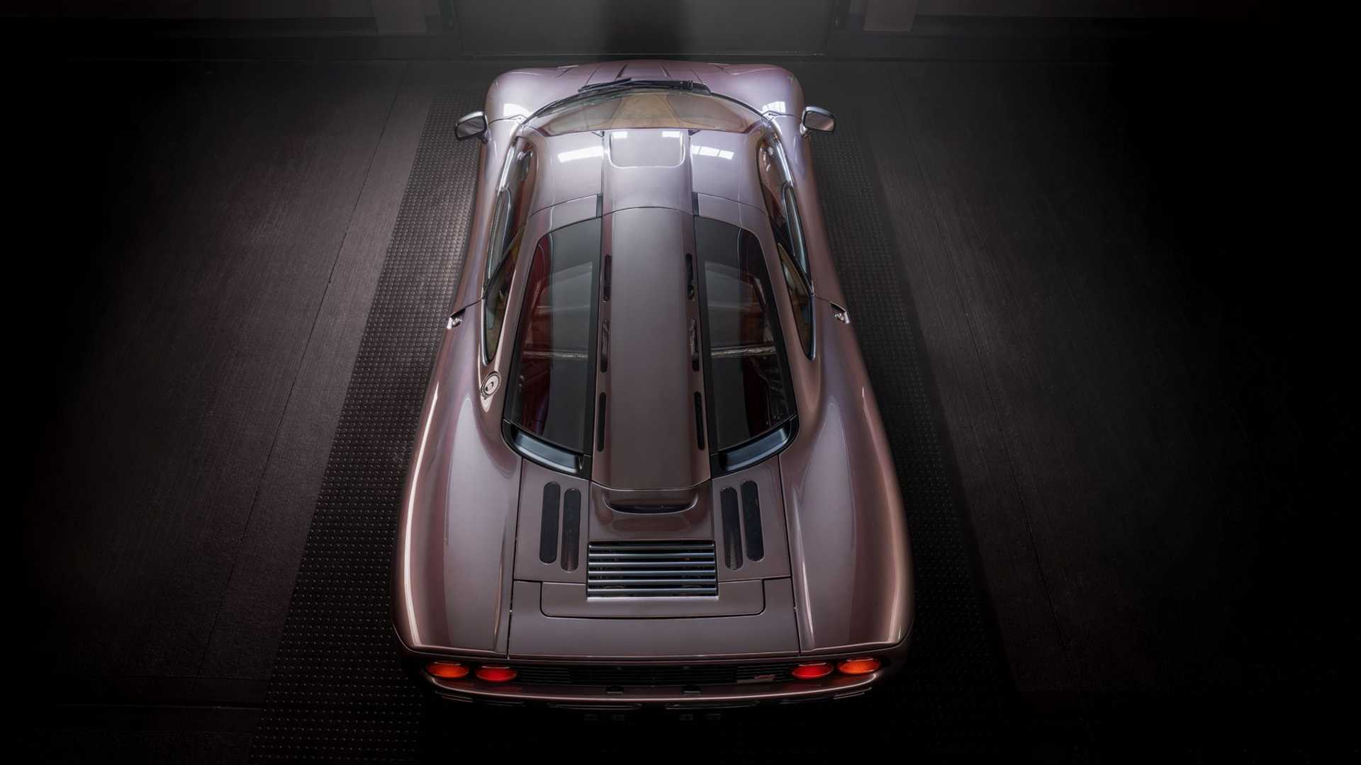 1995 McLaren F1 Gooding And Company Auction 2020 Roof Rear