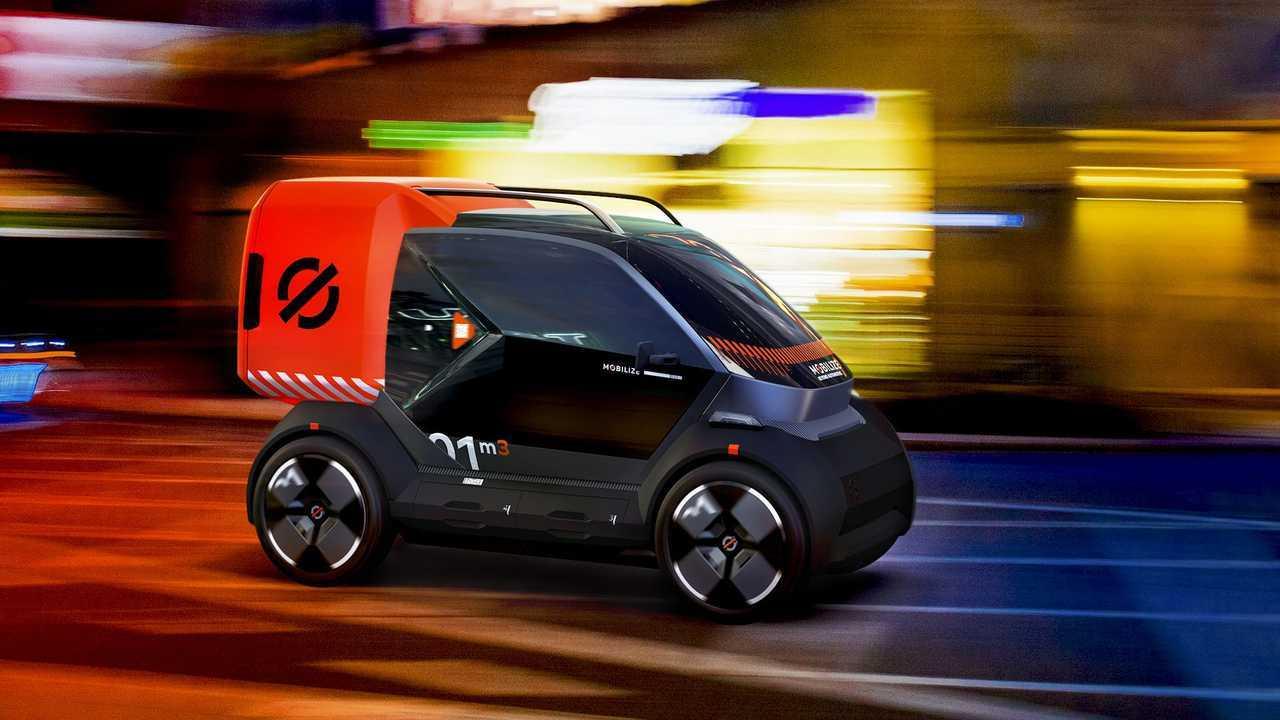 Renault stellt die Elektrofahrzeuge Duo, Bento und Hippo vor