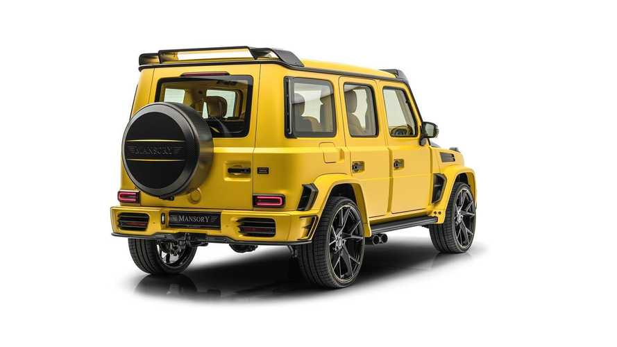 Mercedes-AMG G 63 Gronos by Mansory