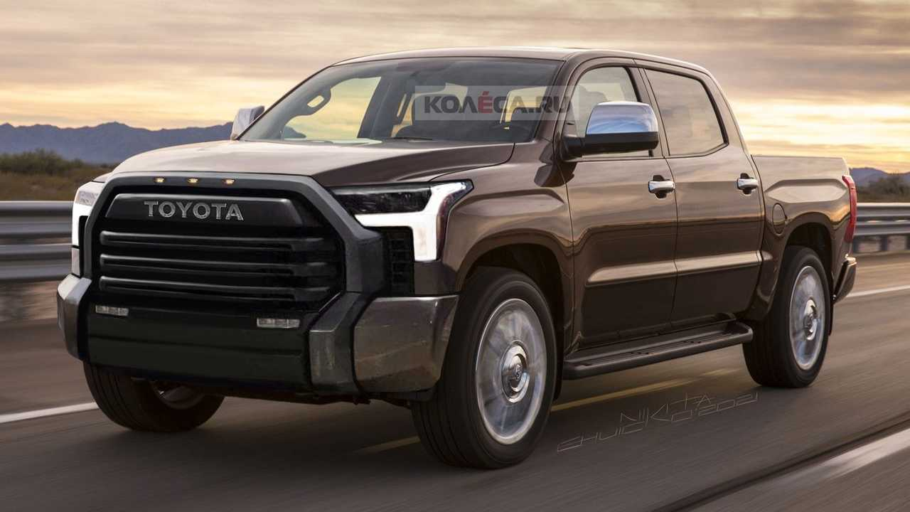 2022 Toyota Tundra unofficial rendering
