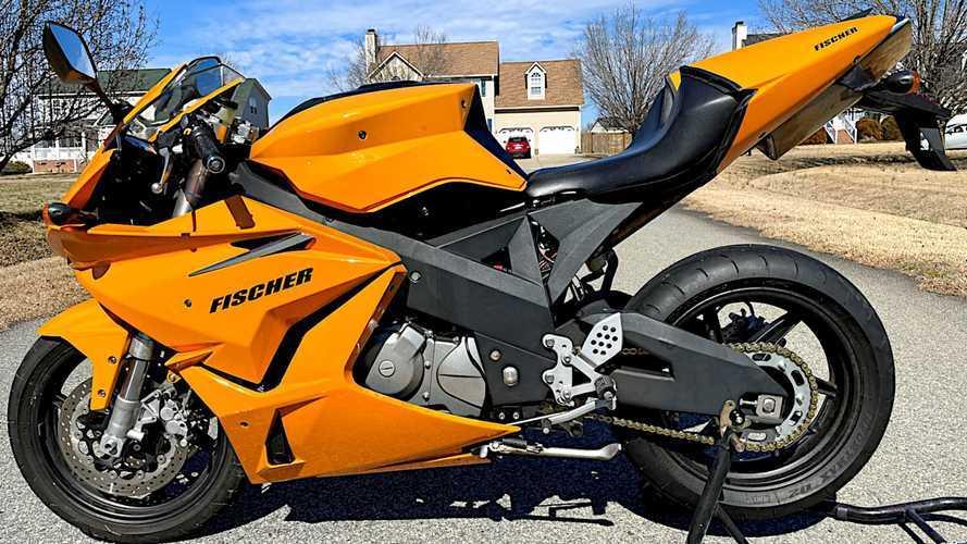 2009 Fischer MRX 650 Is A Rare American Sportbike Dream For Sale