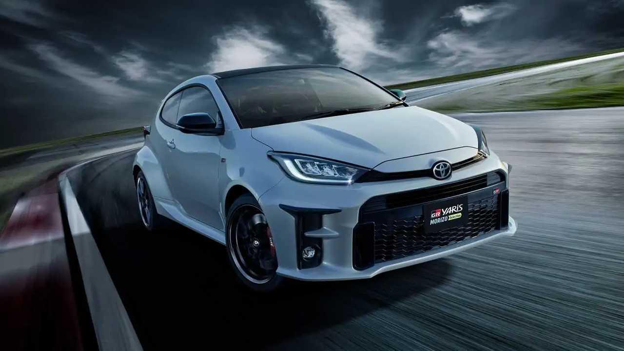 Toyota GR Yaris Morizo kiválasztása