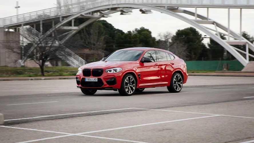 BMW X4 M Competition 2021, a prueba