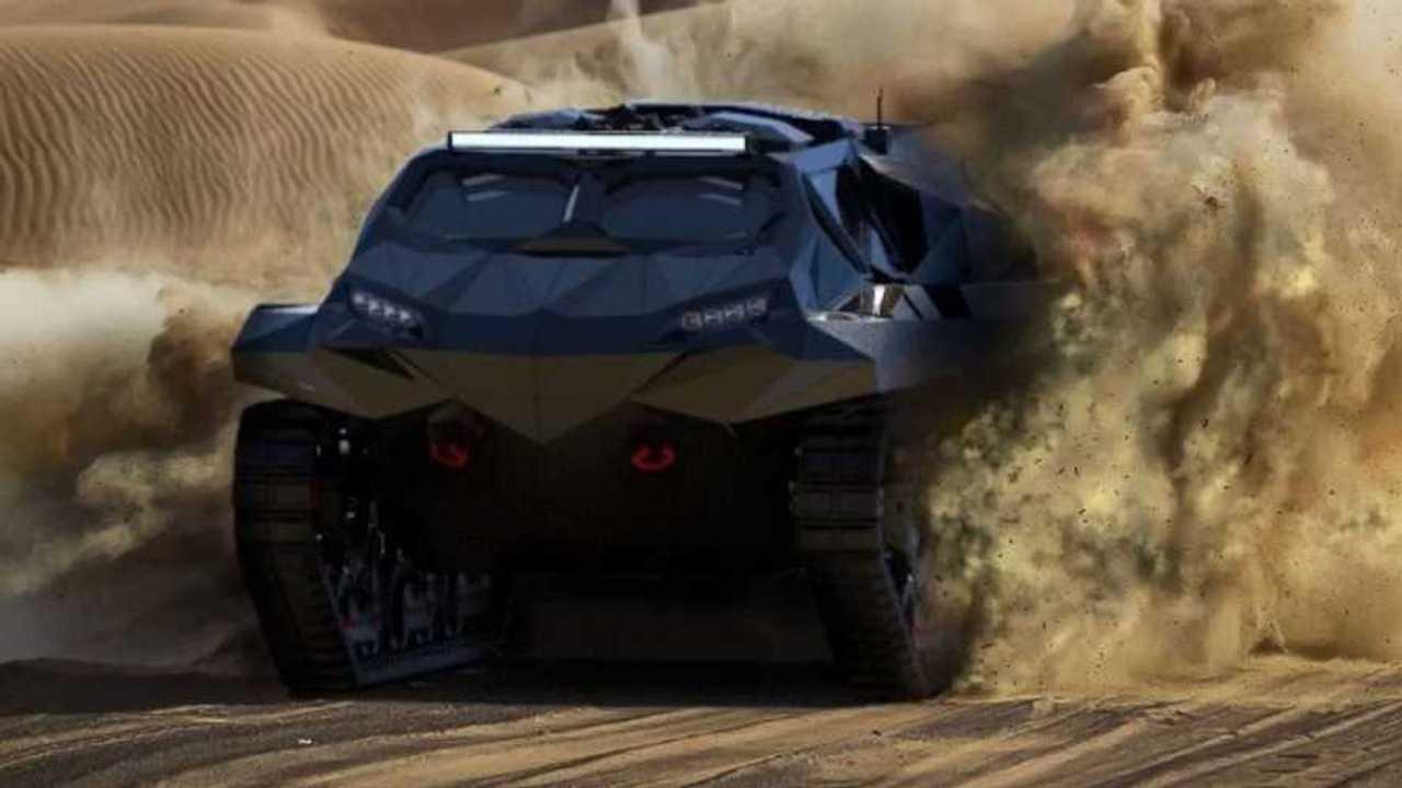 Storm amphibious MPV abu dhabi military