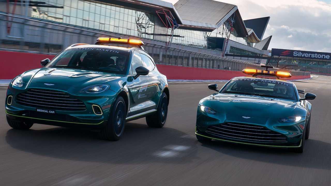 Aston Martin F1 Güvenlik Araçları