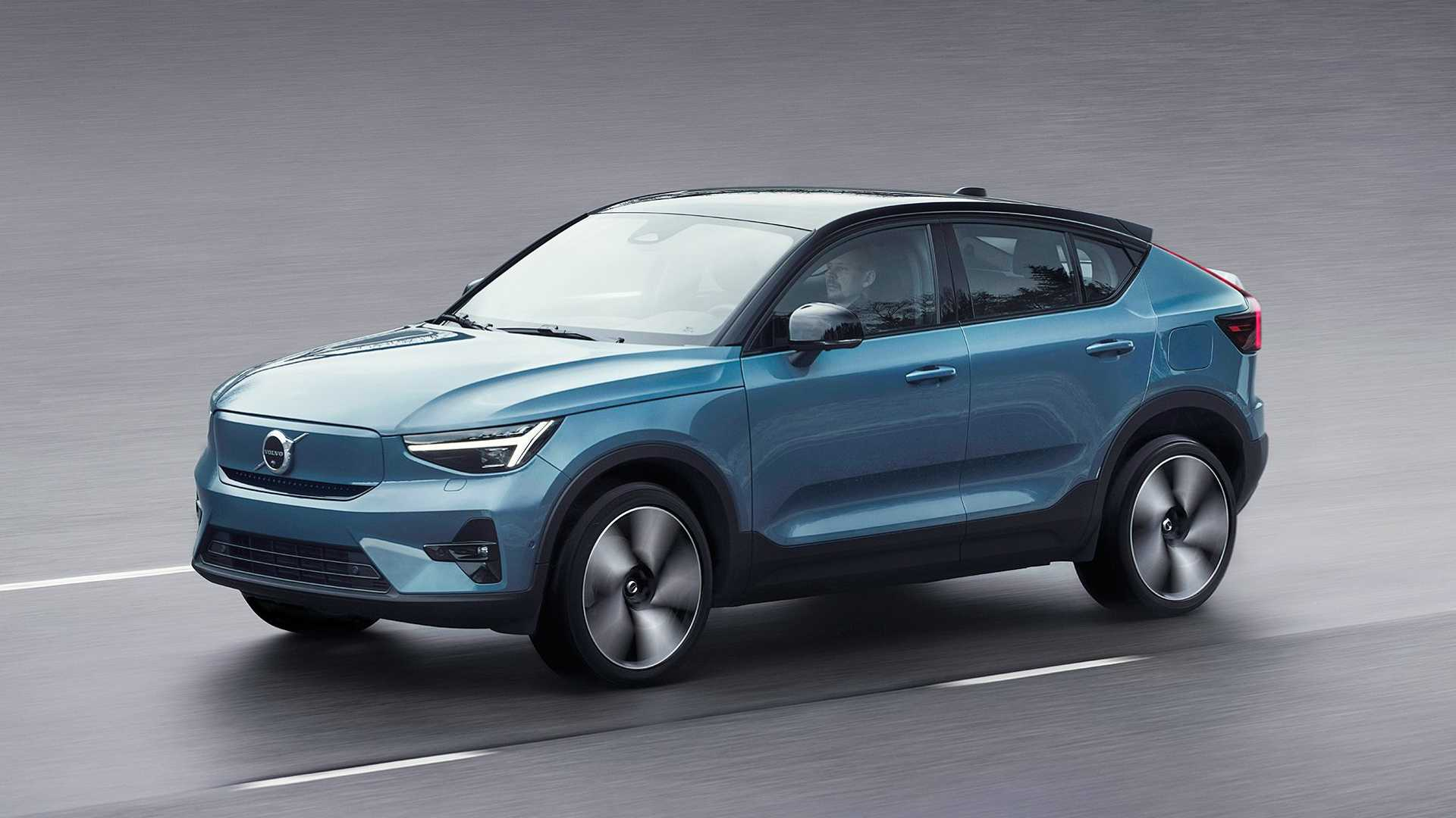 Volvo C40 Recharge (2021): Die Coupé-SUV-Version des XC40