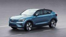 volvo c40 recharge 2021 coupe suv elektroantrieb