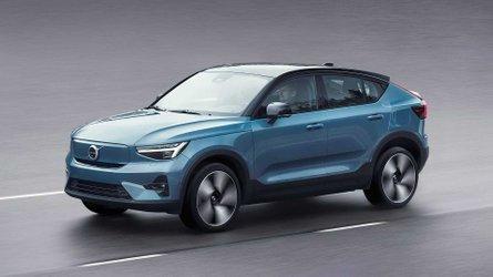 Volvo C40 Recharge (2021): Coupéhafte Version des XC40 mit Elektroantrieb