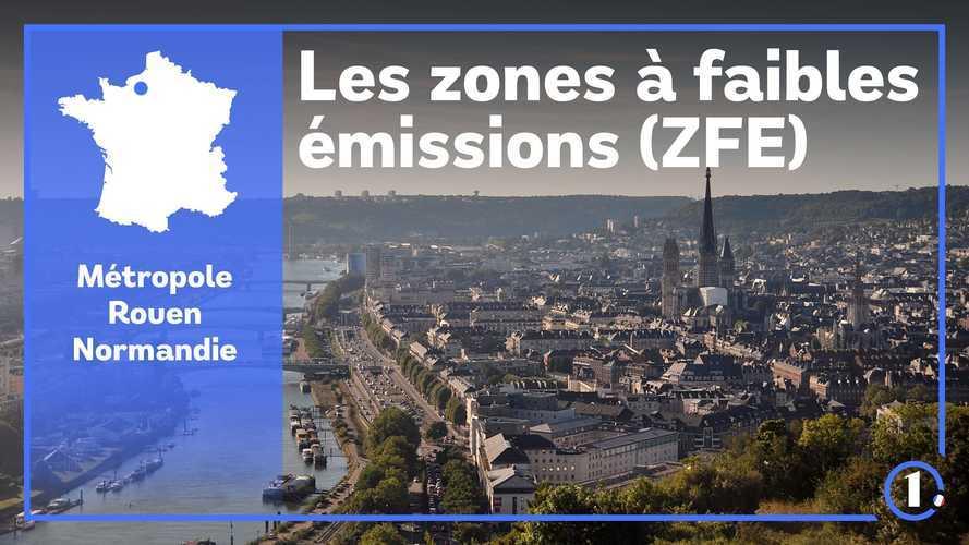 ZFE Rouen - Véhicules autorisés, amendes, restrictions...