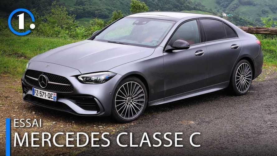 Essai Mercedes Classe C (2021) - L'étoile continuera de briller