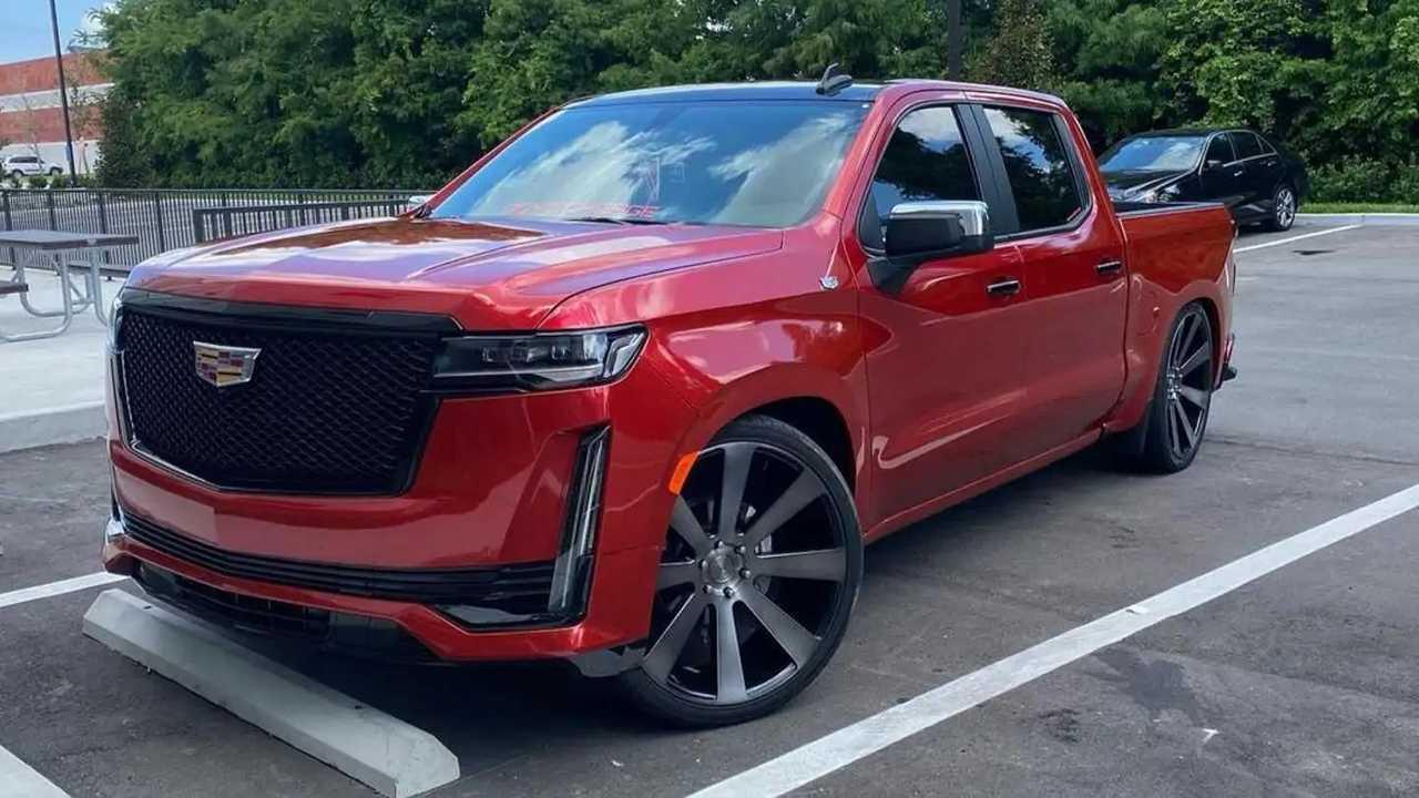 Chevrolet Silverado-based Cadillac Escalade