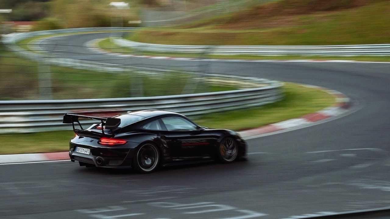 Porsche 911 GT3 RS Manit Performance Kit Nurburgring Record