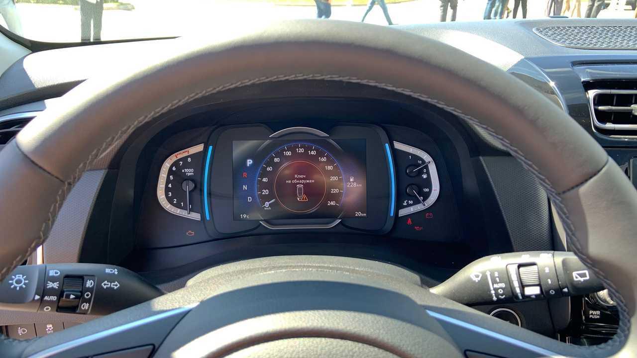 Комбинация приборов Hyundai Creta второго поколения для России