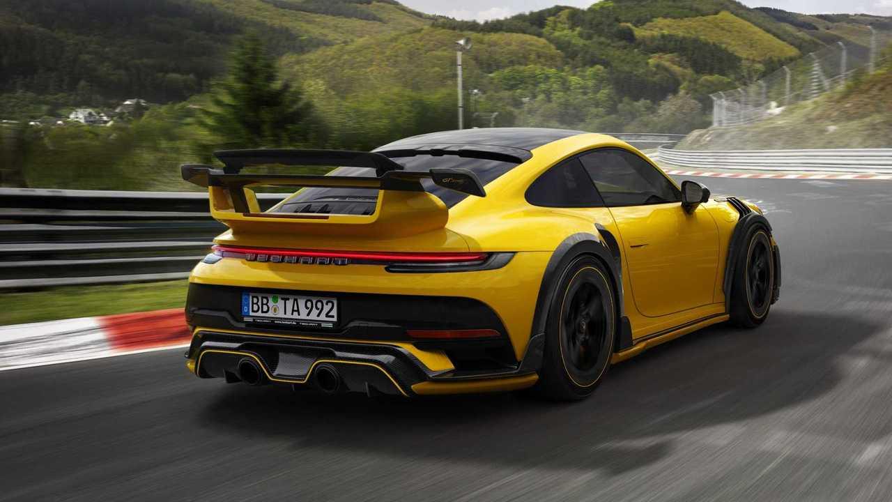 Der Techart GTstreet R ist der Porsche 911 Turbo S eurer Träume