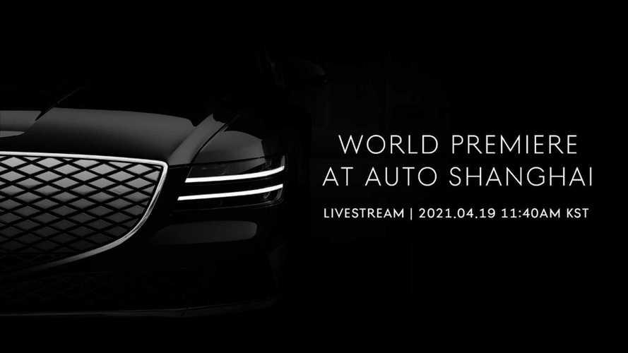 Genesis устроит мировую премьеру новой модели в Китае