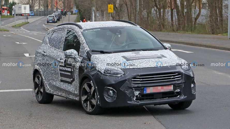 Ford Fiesta, la versione restyling torna a farsi vedere