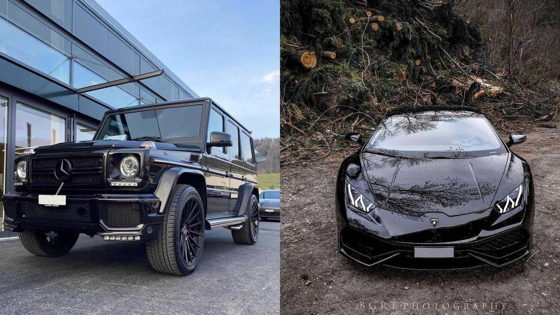 À la recherche de deux voitures de luxe volées à un loueur suisse