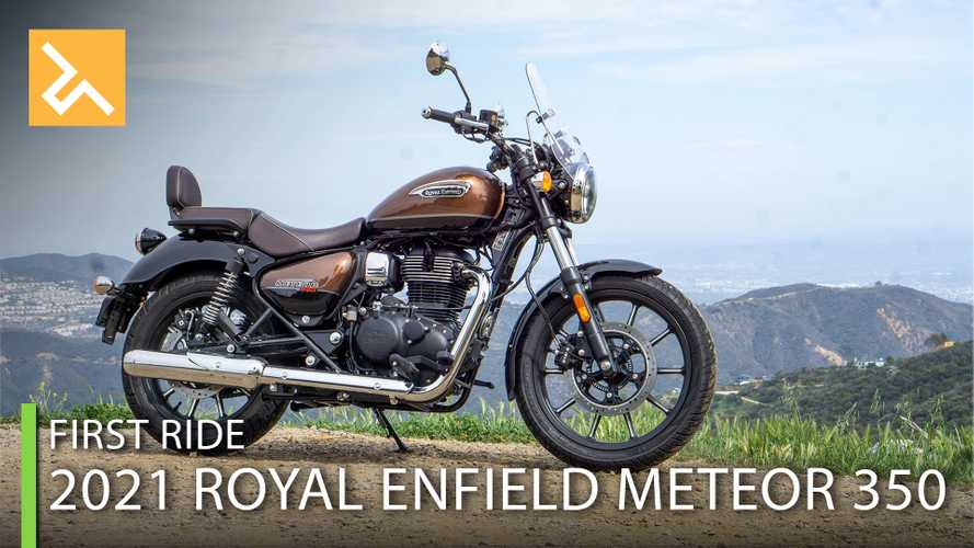 2021 Royal Enfield Meteor 350 First Ride: The Motley Cruiser