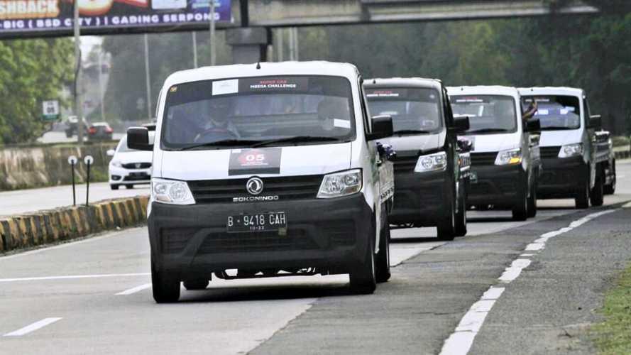 DFSK Super Cab Lakukan Uji Coba di Jalan Raya