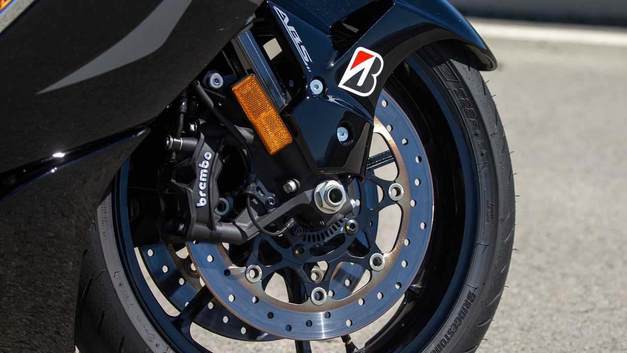 2022 Suzuki Hayabusa Brake Detail