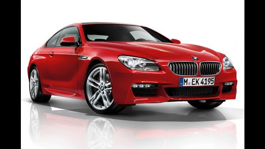 BMW apresenta Série 6 com pacote esportivo M, versão xDrive e motor a diesel