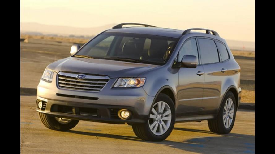 Subaru reduz produção nos EUA