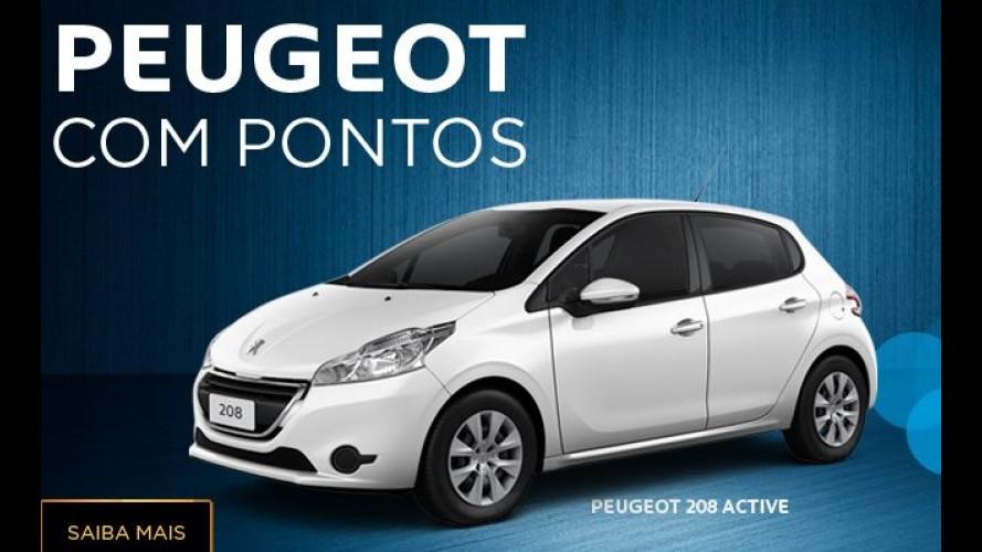 Peugeot lança promoção inédita que permite resgatar carro com milhas