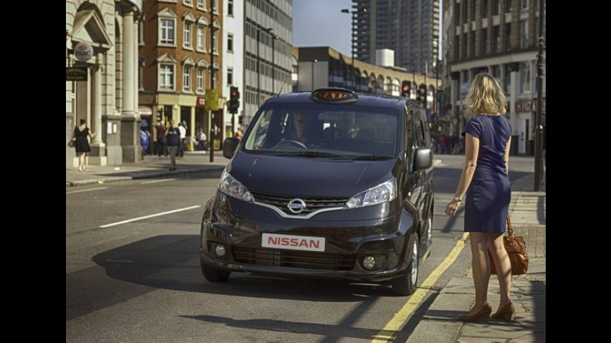 Nissan NV200 será o novo táxi